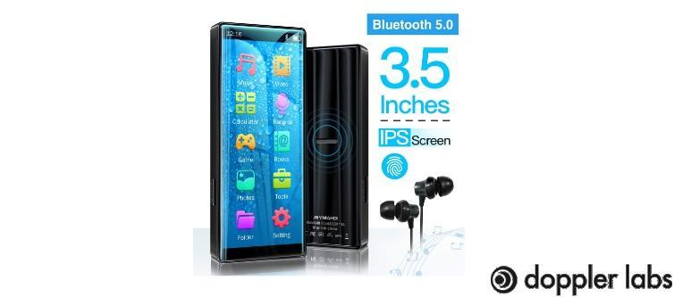 MYMAHDI MP3 Player with Bluetooth 5.0
