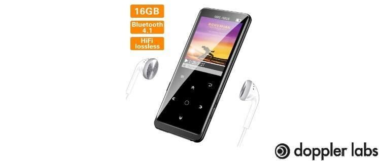SUPEREYE MP3 Player with Bluetooth 4.1