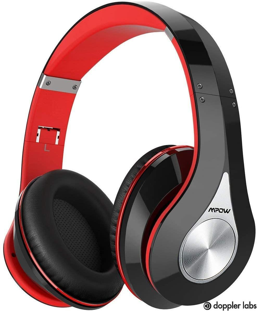 Red Mpow 059 Over-ear Headphones