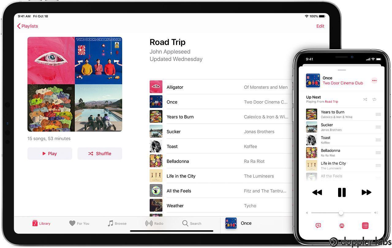 Apple Music has a huge catalog