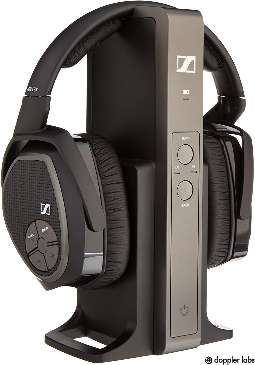 The Sennheiser RS 175 RF has the best boost for bass
