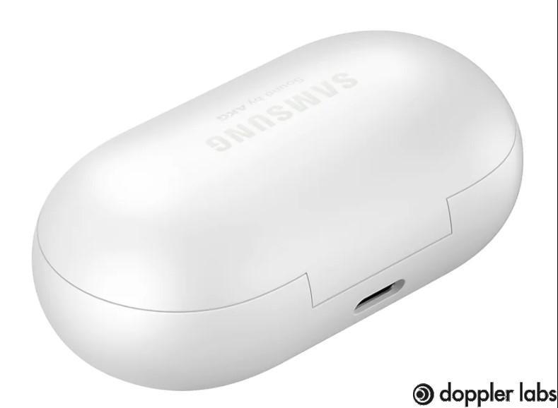 The USB-C charging port