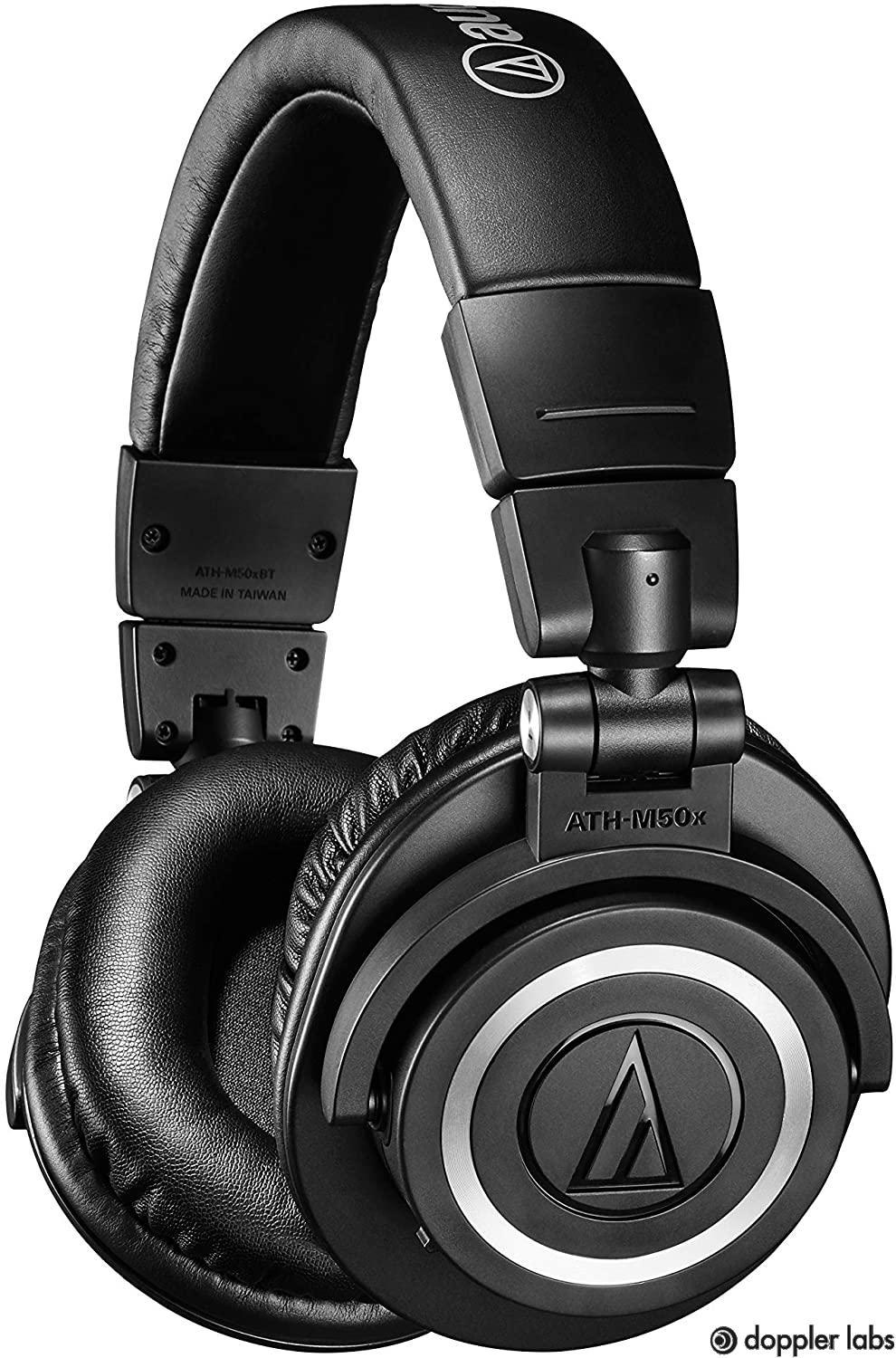 The Audio-Technica ATH-M50X BT Over-Ear Headphones have incredible audio monitoring.