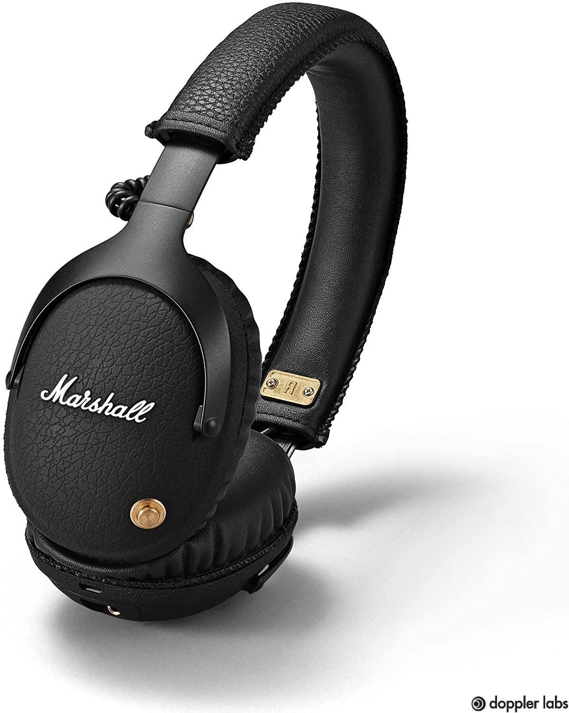 Marshall Monitor 04091743 Bluetooth Over-Ear Headphone – Best Battery Life