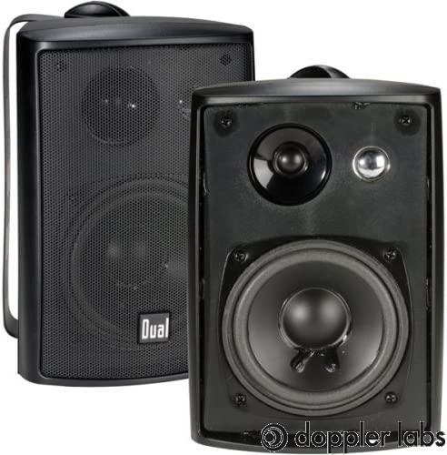 Dual Electronics LU43PB High-Performance Outdoor Bluetooth & Wireless Speakers