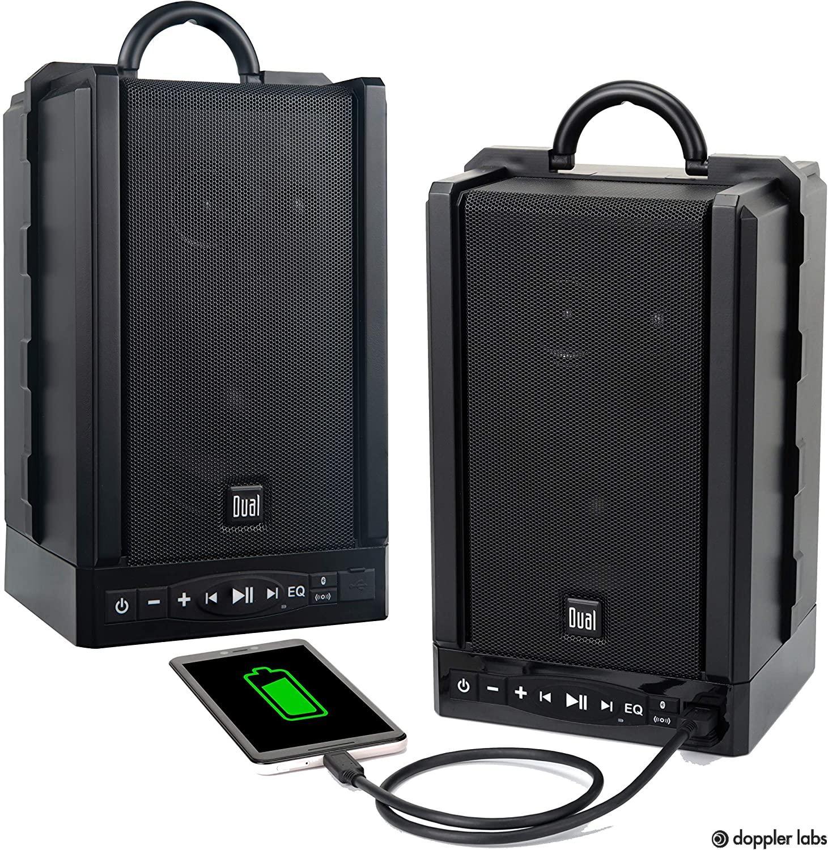 Dual Electronics LU48BTS Portable Bluetooth & Wireless Speakers