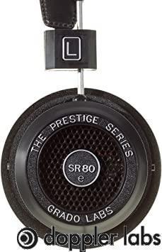 GRADO SR80e Open-Back Stereo Headphones