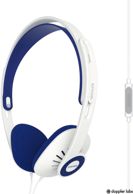 Koss KPH30iW On-Ear Headphones