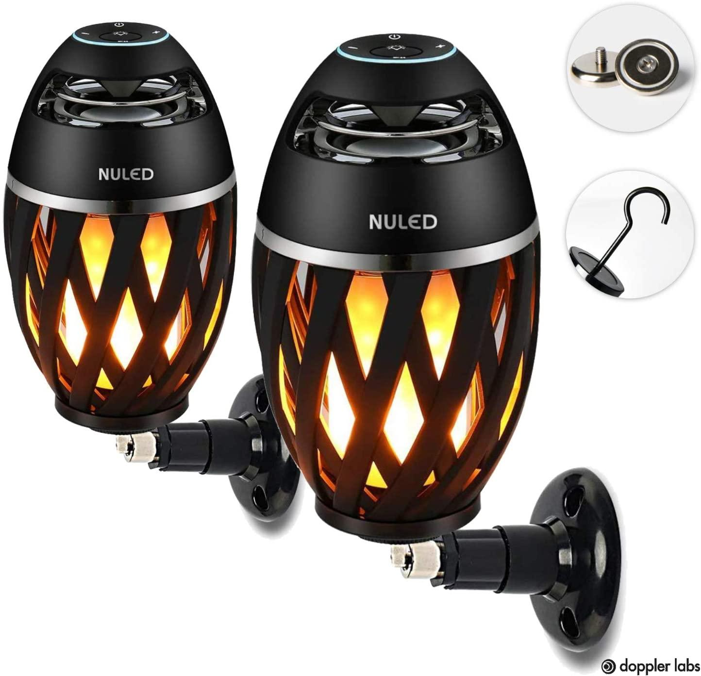 NUNET Audio Tiki Torch Bluetooth & Wireless Speakers