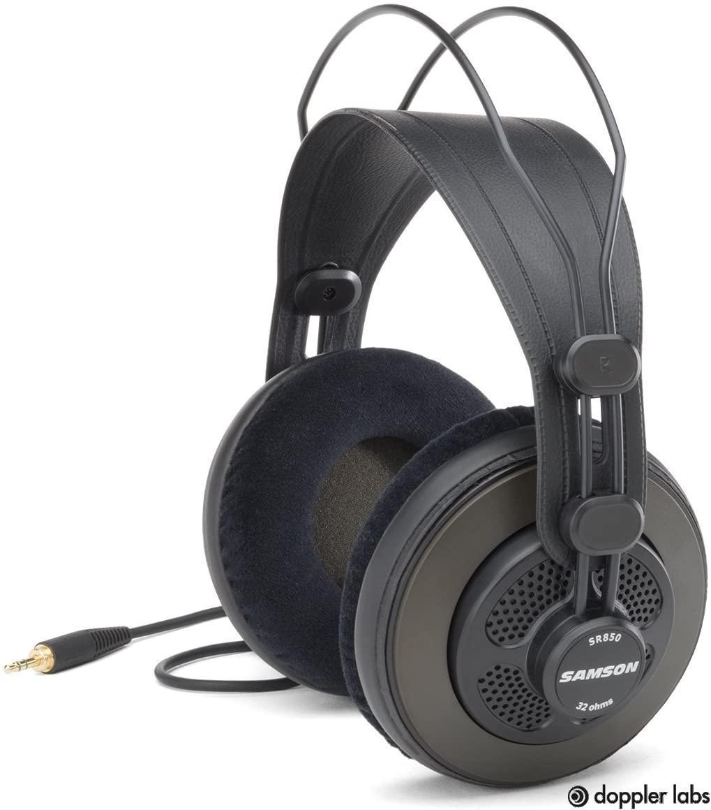 Samson Technologies SASR850C Semi Open-Back Headphones