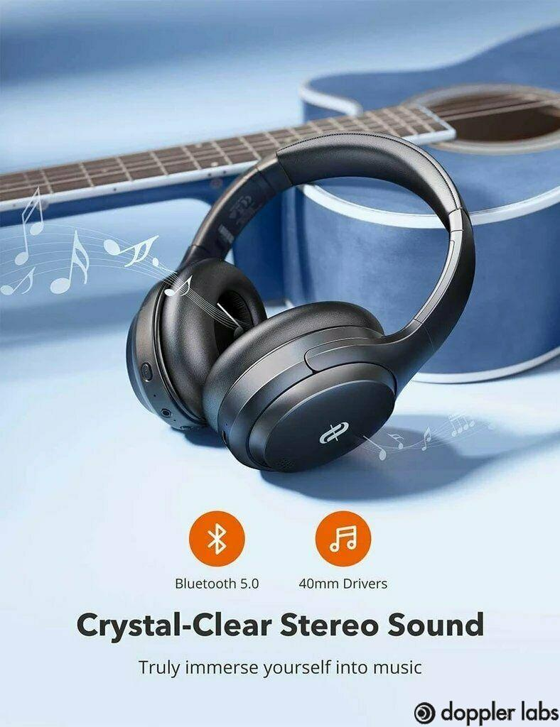 TaoTronics Noise Cancelling Headphones TT-BH090