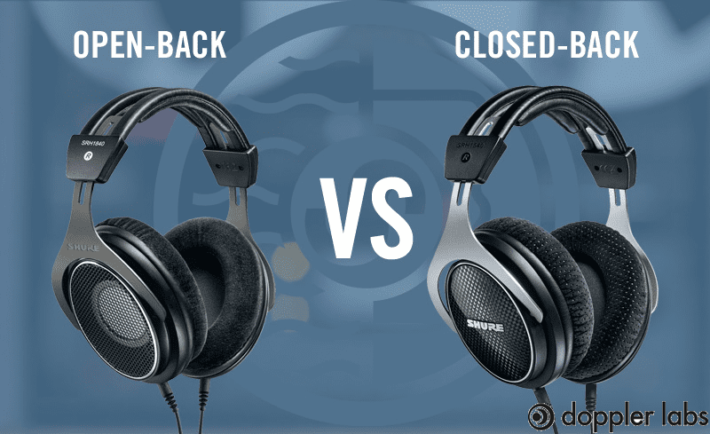 Closed-Back And Open Back Headphones?