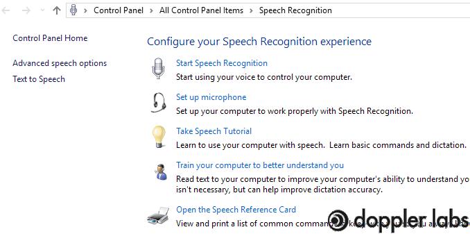 Set Up Microphone