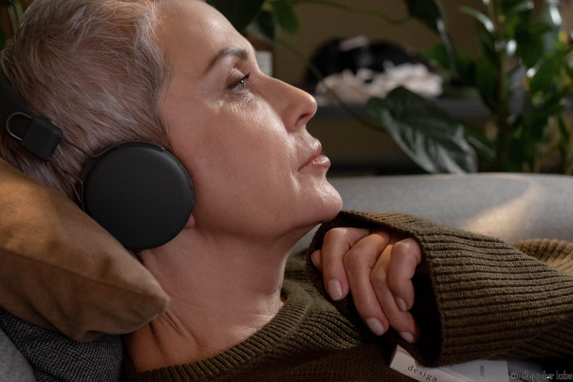 Simple Average Setting For Headphone While Sleeping