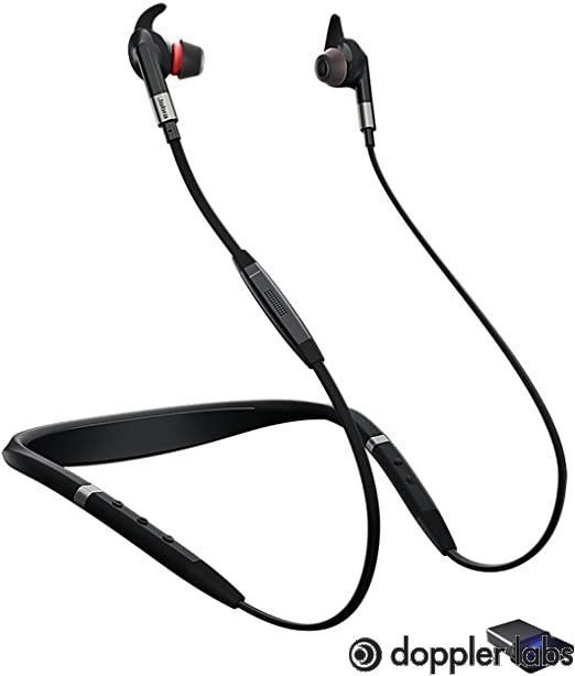 Jabra Evolve Bluetooth Wireless In-Ear Earphones 75e