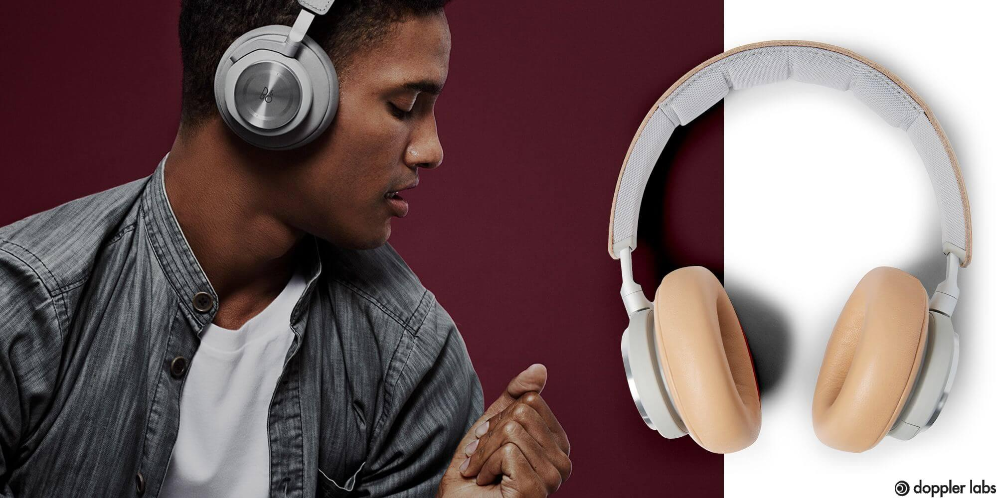 Use styling headphones might be a good idea