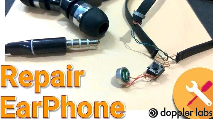 Fix broken headphones without tools