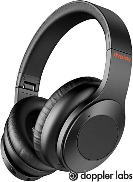 Hybrid headphones combine feedback and feedforward system