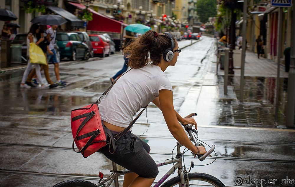 Listening to music while biking may lead to serious accidents