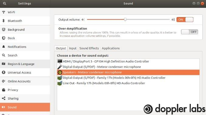 Set Default Audio Output Device