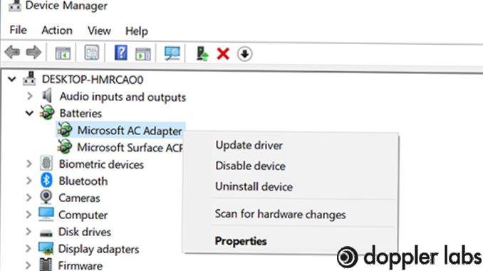 Update music drivers on window 10