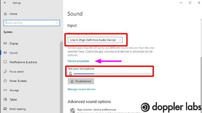 Windows 10 headset mic test