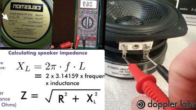 Speaker Impedance rating